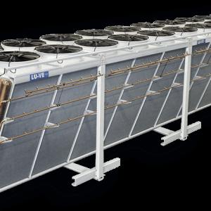 دستگاههای کندانسور آدیاباتیک و هواخنک به همراه سیستم پاشش آب D&S