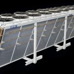 دستگاههای کندانسور آیاباتیک و هواخنک به همراه سیستم پاشش آب WSS